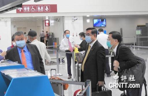 新党主席吴成典率团赴海峡论坛。图片来源见水印