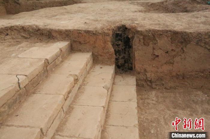 朝元阁遗址。陕西省考古研究院