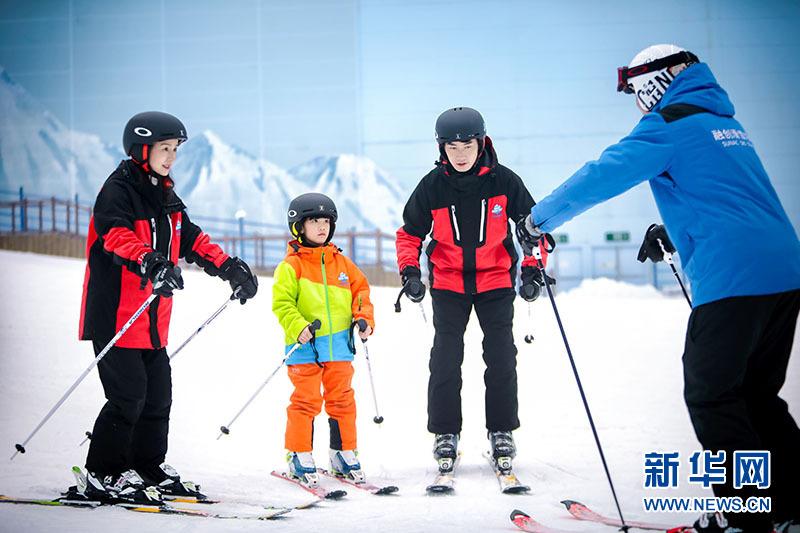 融创雪世界满足家庭欢乐新体验。
