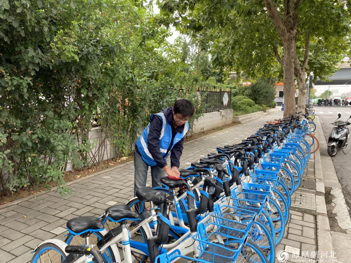 共享单车运维小哥:岗位坚守是一种温暖人心的荣光