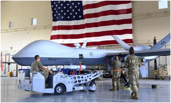 美国空军的MQ-9无人机