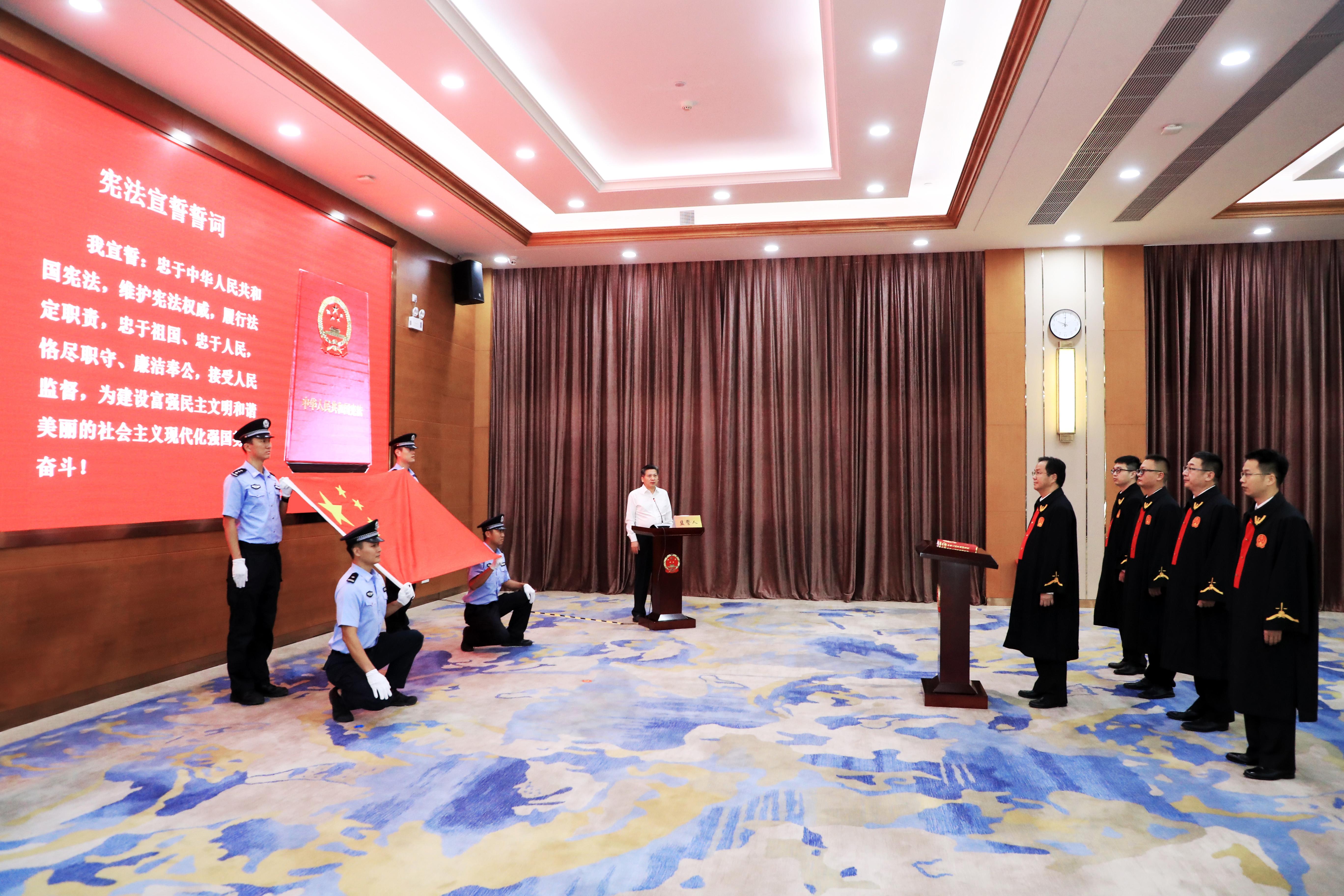 深圳深汕特别合作区人民法院10月1日起正式受理案件