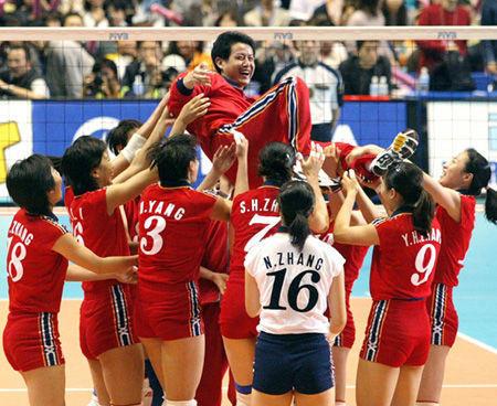 2004年,雅典奥运会上获得金牌