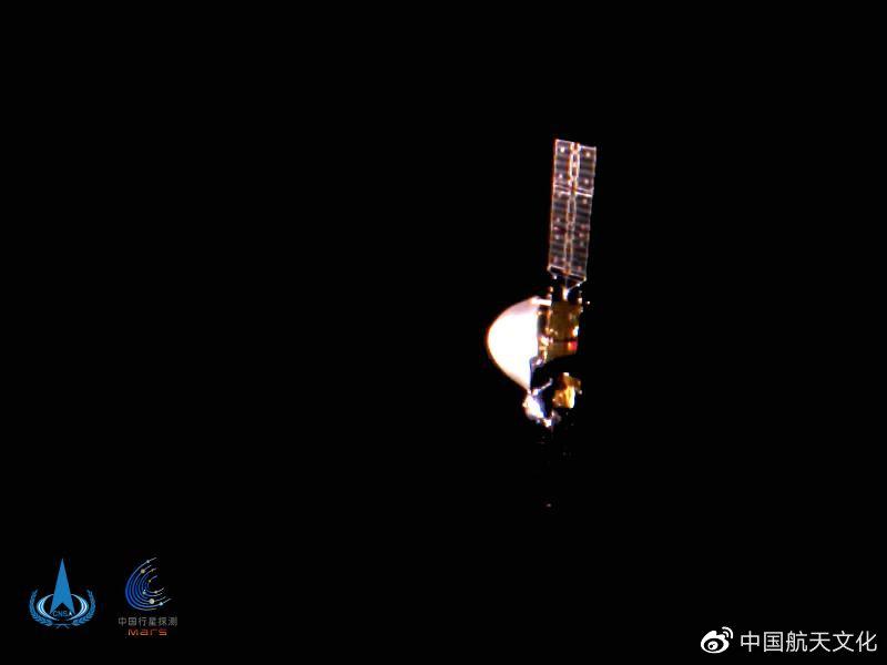 【百度点击软件】_来自太空的节日祝福!天问一号展示一亿公里外的五星红旗