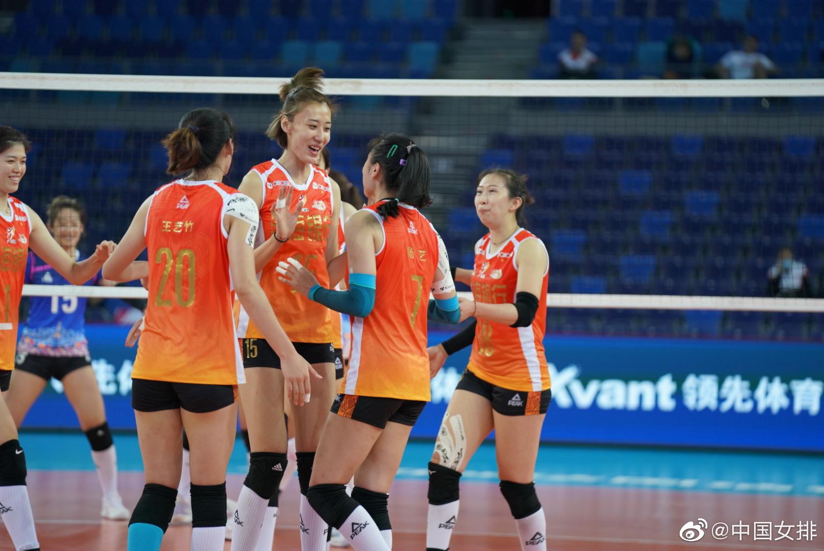 终止连败 状态回暖 天津女排3-1逆转北京