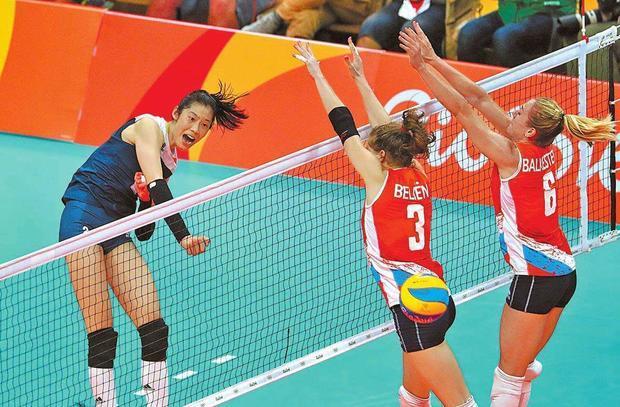 里约奥运会,中国女排获得第三块金牌