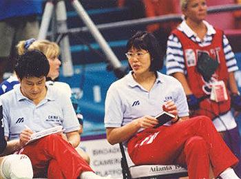 1996年亚特兰大奥运会上的郎平与陈忠和