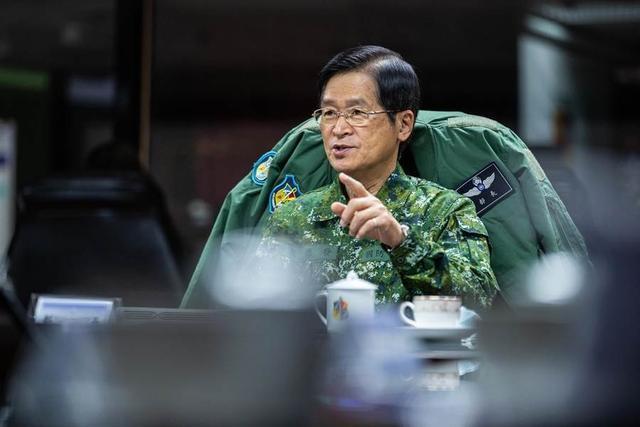 【千度快手】_台湾军方负责人:目前没有出现解放军攻台征兆
