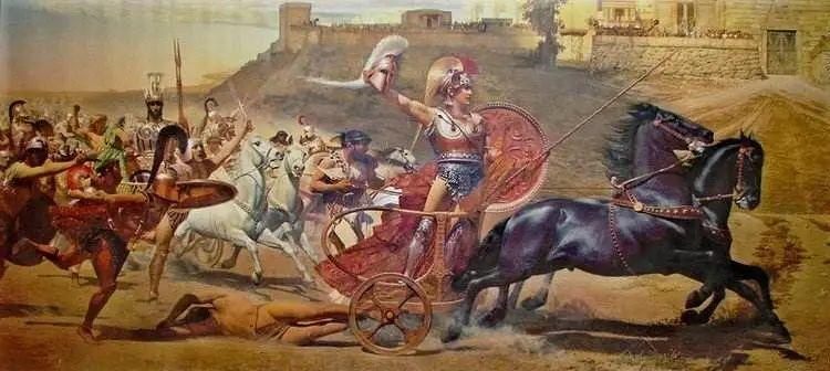希腊英雄阿基里斯