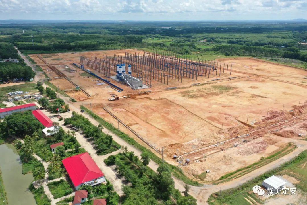 定安新世纪装配式建筑产业基地建设项目预计年底试投产