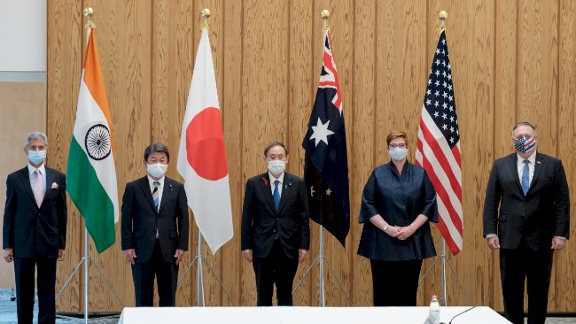 体育资讯_美日印澳外长举行会谈,蓬佩奥就多个问题指责中国,中方驳斥 ...