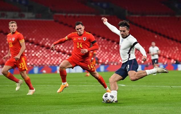 友谊赛:英斯禁区内倒钩破门,英格兰3-0战胜威尔士
