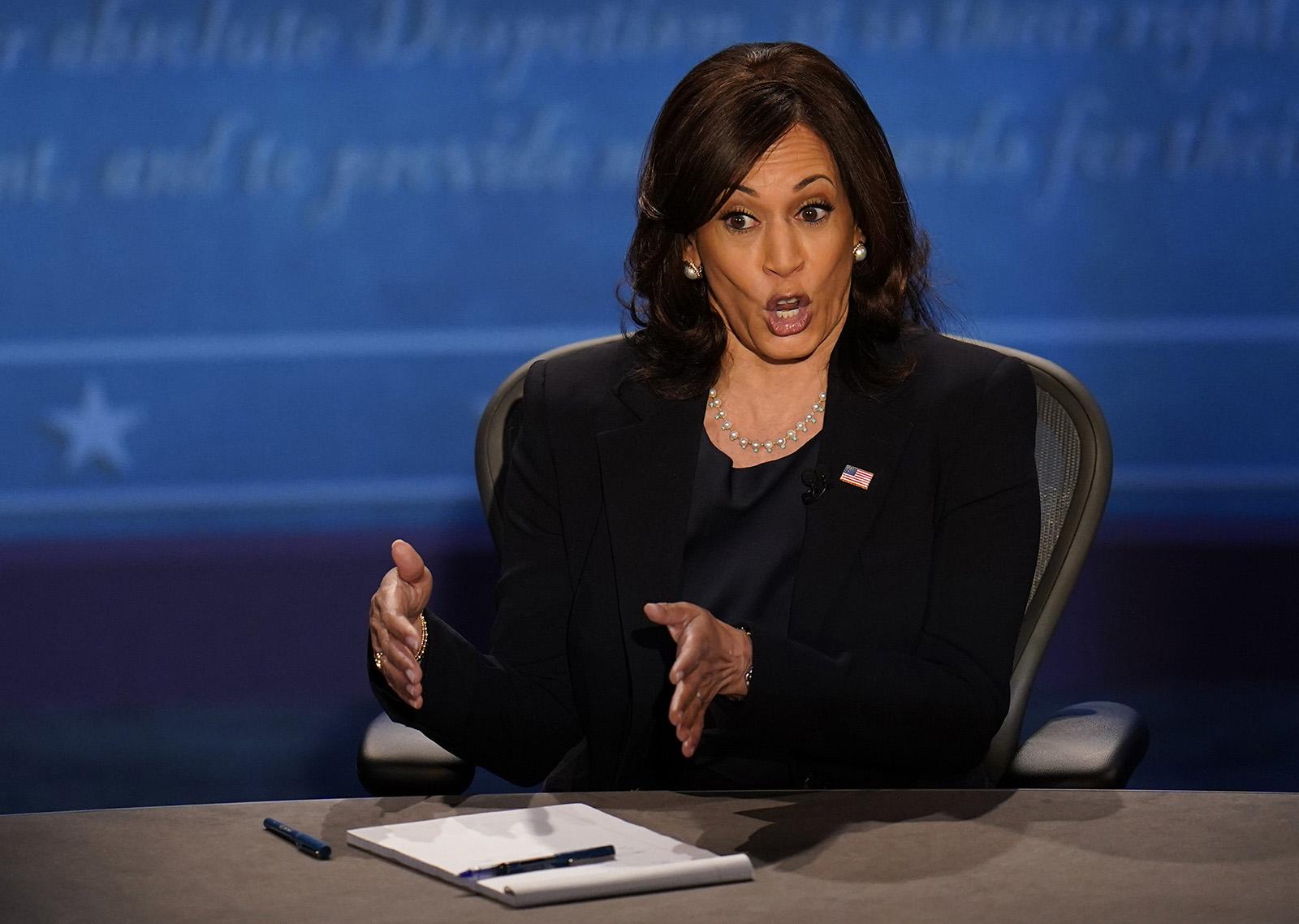 【红木家具弘木传媒】_彭斯哈里斯还在辩论,特朗普发推:彭斯干得好!她是个失态的机器