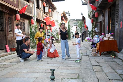 铜陵义安区:民俗声里庆佳节