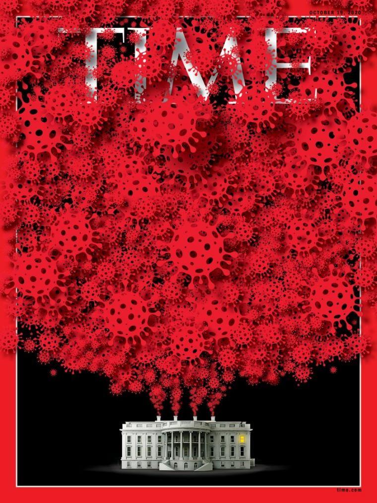"""【谷歌日本免费mv在线观看】_《时代》周刊白宫""""沦陷""""新冠病毒的震撼封面刷屏说明了什么?"""