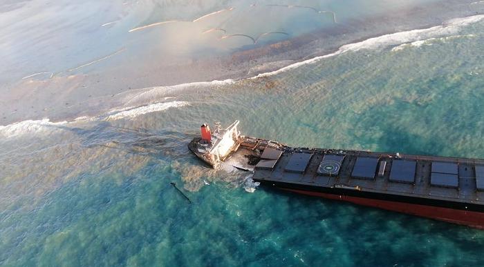 【迪士尼国际邀请码88688】_日本货船在毛里求斯漏油事故调查后续:触礁前无人监控航道