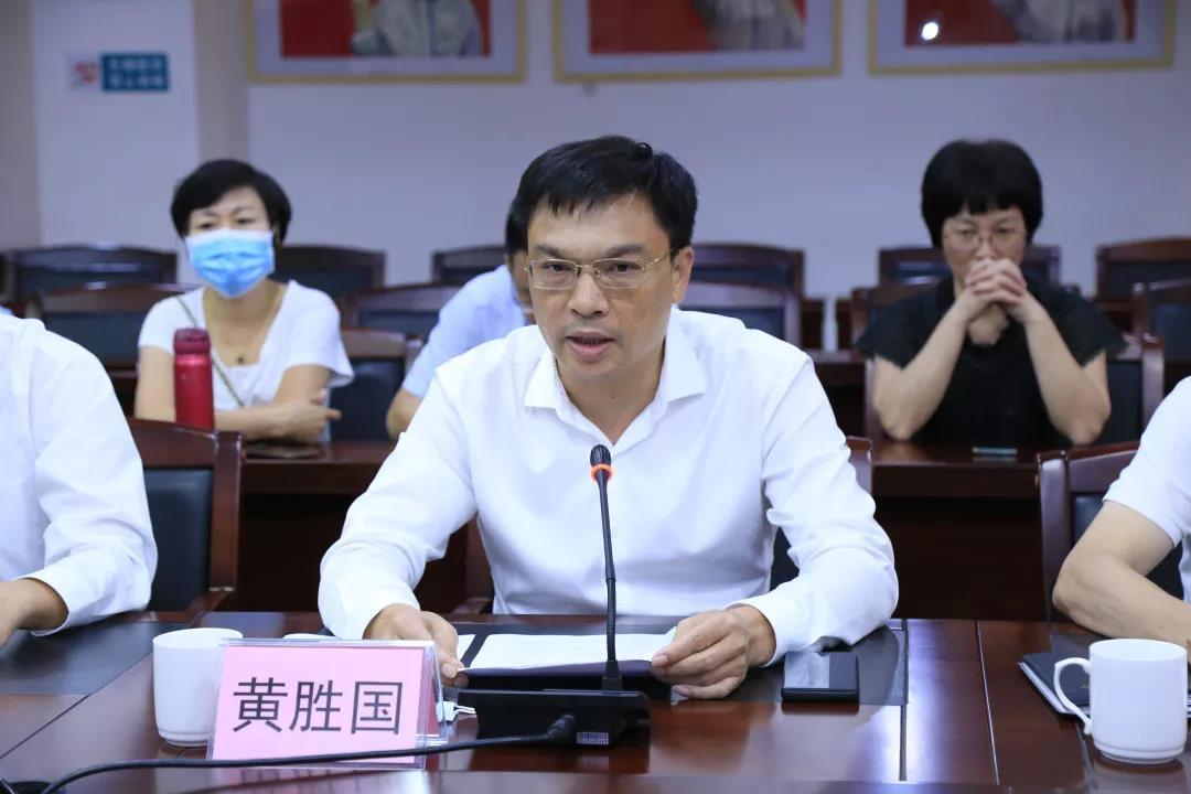 海丰县卫生健康局党组书记黄胜国局长讲话