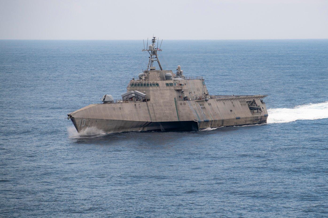为了适应海军转型,濒海战斗舰开始装备反舰导弹。