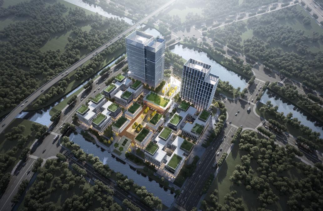 中国基因药谷一期开工(效果图) 温州市科技局供图