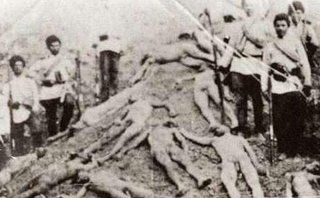 奥斯曼帝国军队屠杀亚美尼亚人