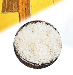泰来大米粒粒香。