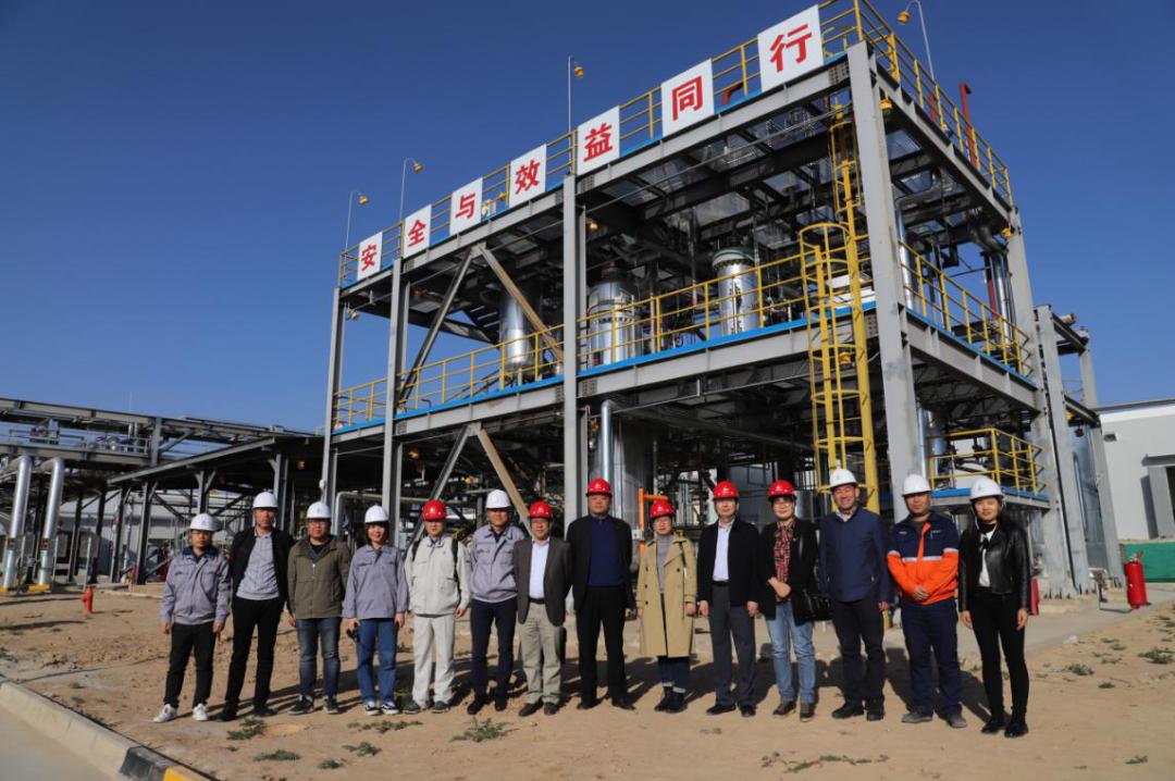 """兰州新区""""液态太阳燃料合成示范项目装置""""通过考核"""
