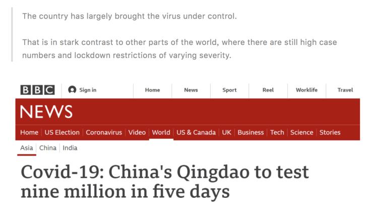 12人感染后青岛5天检测900万人!外国人彻底酸了…