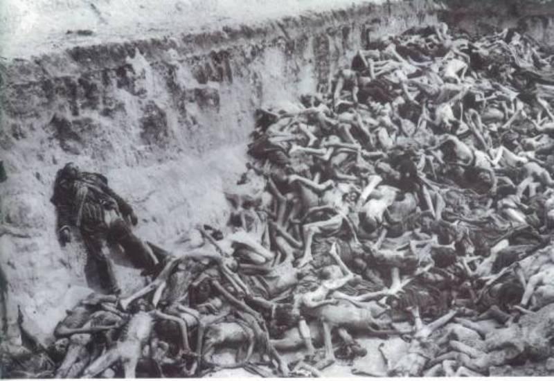 阿塞拜疆政府官方网站上存留的亚美尼亚人屠杀阿塞拜疆人的相关照片。