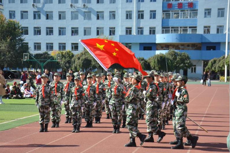 """沈阳和平区组织开展首届""""少年国旗班""""大练兵展示活动"""