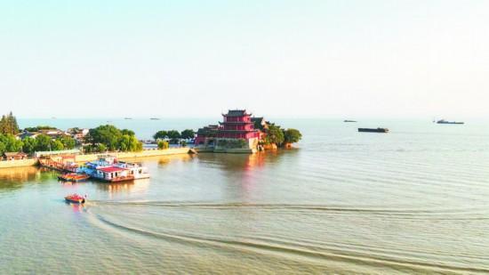 安徽巢湖中庙姥山岛景区:节后旅游热情不减