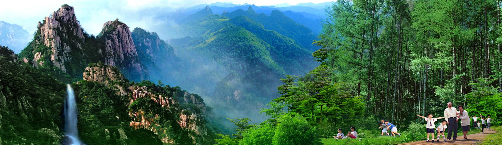 河北省的后花园:燕赵独秀五岳寨