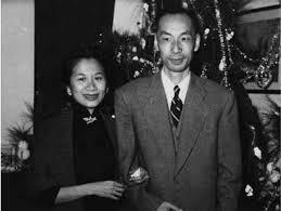 张爱玲的挚友宋淇、邝文美夫妇。
