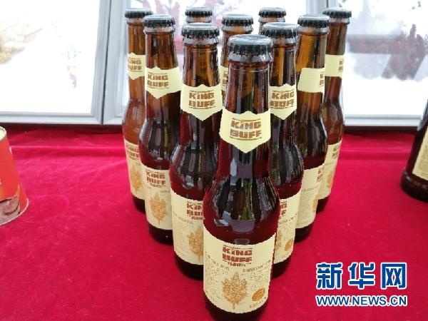 藜麦啤酒 新华网(宋燕 摄)