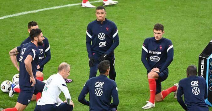 法国记者:法国全队最新新冠检测结果均为阴性