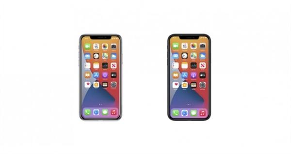 苹果新图标提前泄漏iPhone 12外形:刘海更窄