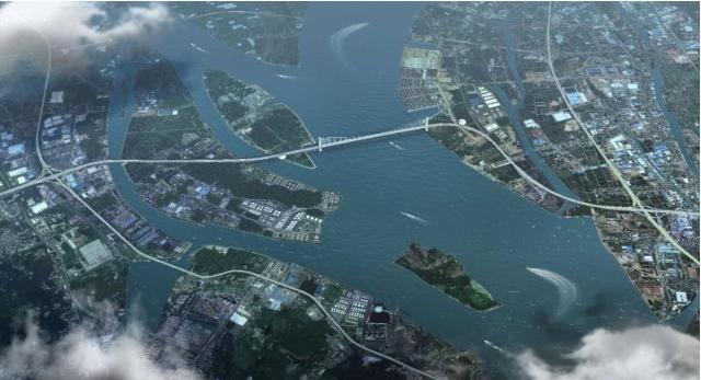 狮子洋通道筹建在即 粤港澳大湾区将再添跨江新成员