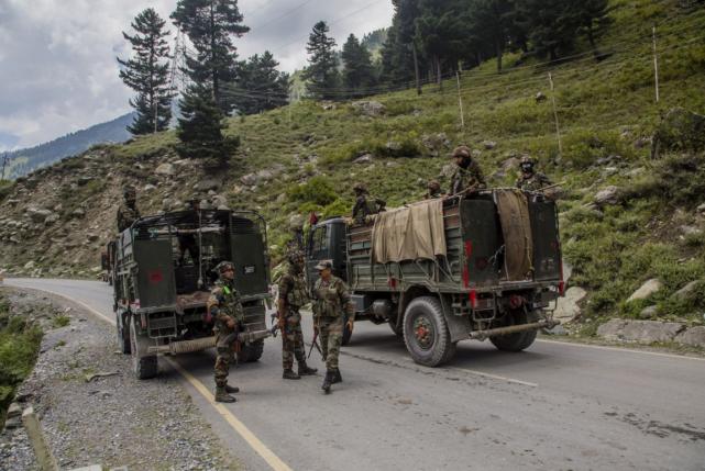 美媒称,印度加强中印边境桥梁建设令局势恶化