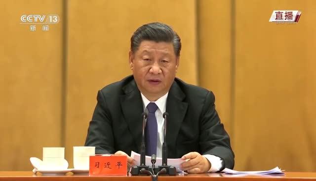 习近平:中国人民在任何困难和风险面前,腿肚子不会抖,腰杆子不会弯