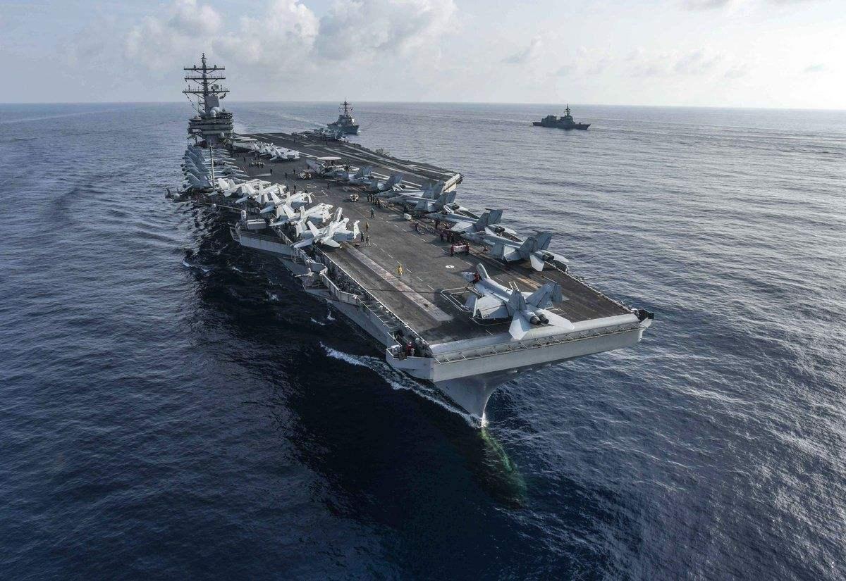 王云飞:既要紧盯美军航母再来南海搅局又要重视其新战术