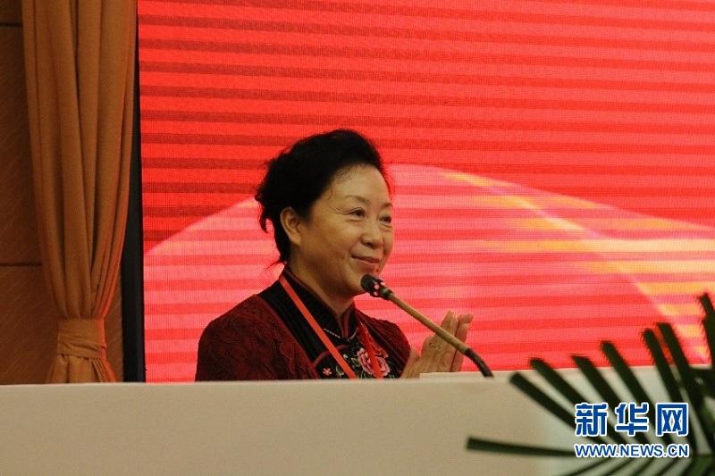广东省自然医学研究不会副会长池晓玲。新华网放