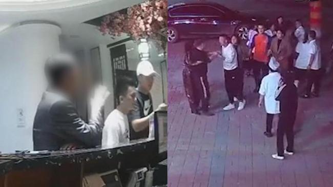 """河北一饭店称顾客自称""""正处""""吃霸王餐还打人,警方介入"""