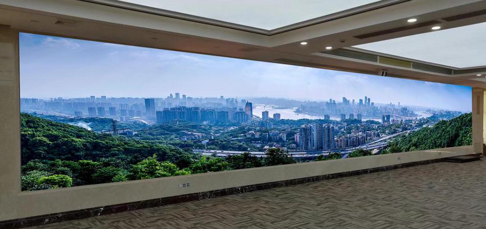 深圳市龙岗区政府会议室雷曼COB超高清显示屏