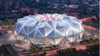 恒大足球场设计方案