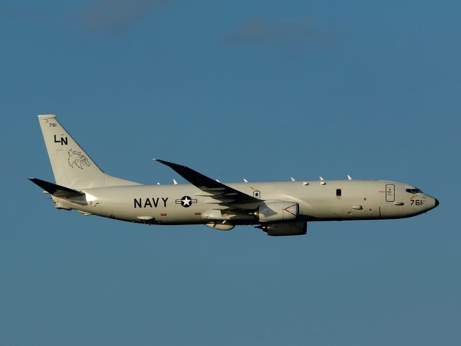 """P-8""""海神""""巡逻机"""
