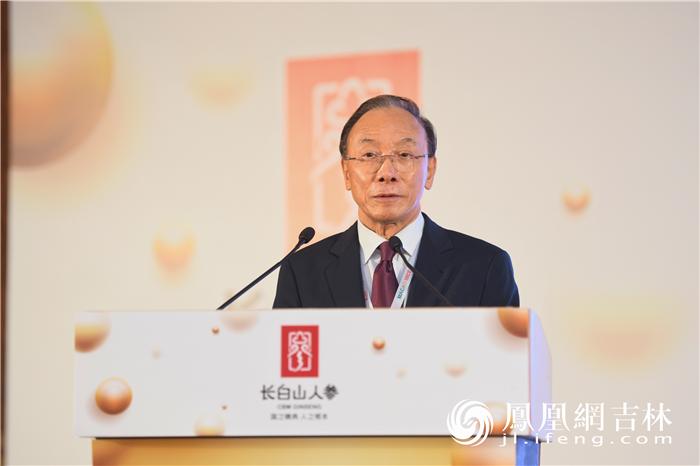 澳门中华总商会副理事长黄国胜致辞。梁琪佳摄