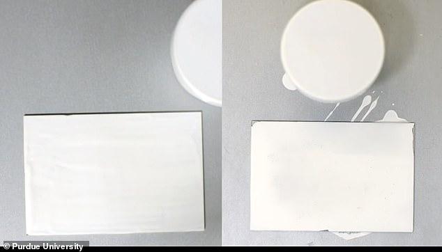 美国普渡大学科学家开发了一种超白油漆,能反射95.5%的太阳光,无论是在晚上还是正午,温度都低于周围环境