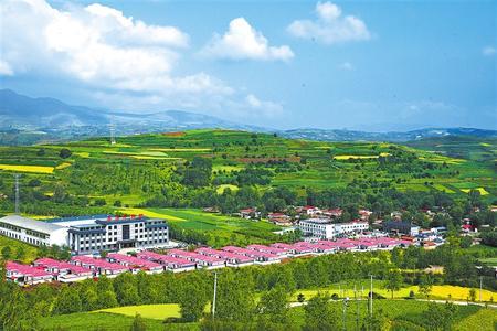 美丽的渭源县田家河乡元古堆村。本版图片均为本报资料图