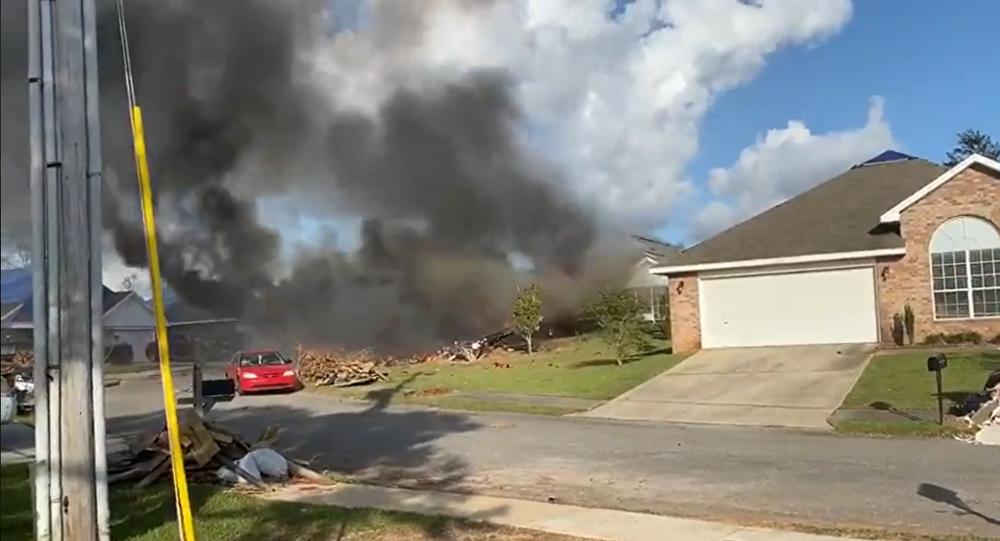 【彩乐园邀请码进入12dsncom】_美国军机撞民宅坠毁:两名飞行员丧生 多辆汽车被破坏