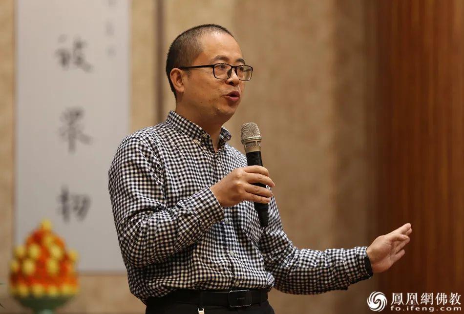 长沙市书法家协会副主席李运良致辞