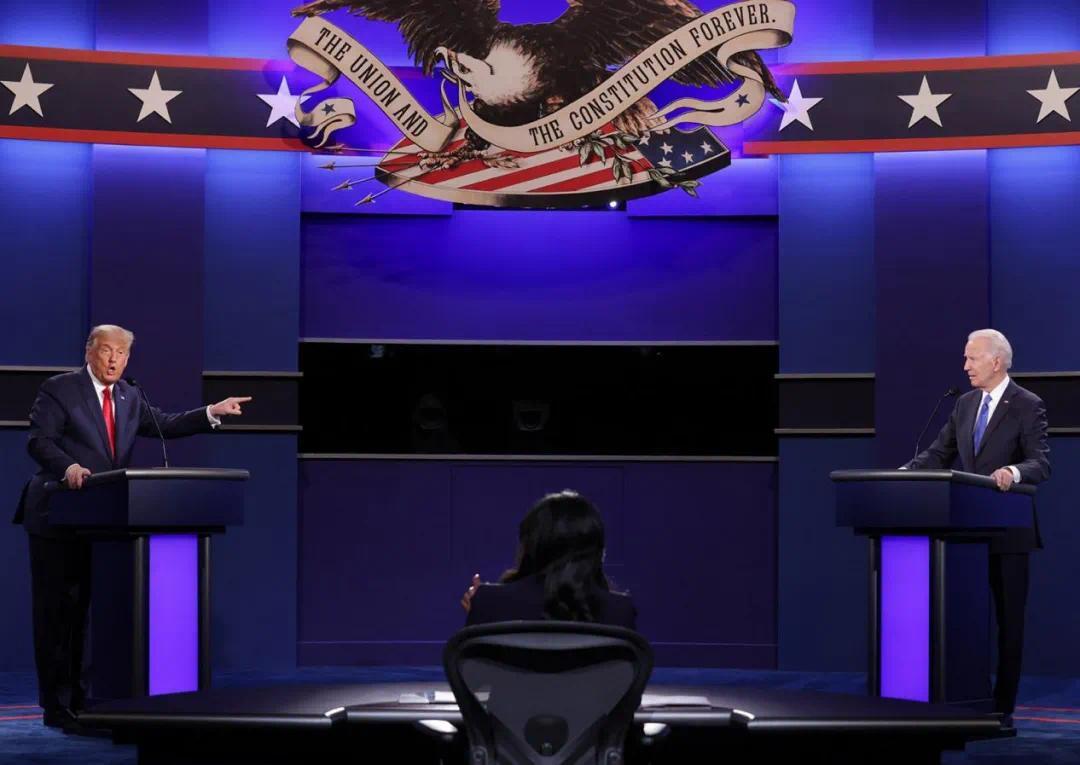 """【彩乐园2官网进入12dsncom】_大选收官之辩,特朗普和拜登终于捡起了""""总统包袱"""""""
